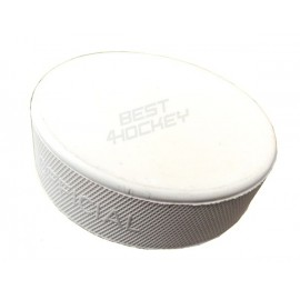 Ice Hockey Puck 6oz - Weiß