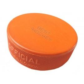 Ice Hockey Puck 10oz - Orange